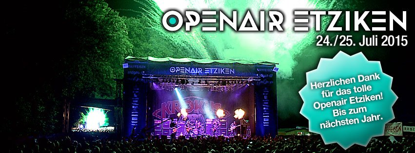 24./25. Juli Open Air Etziken