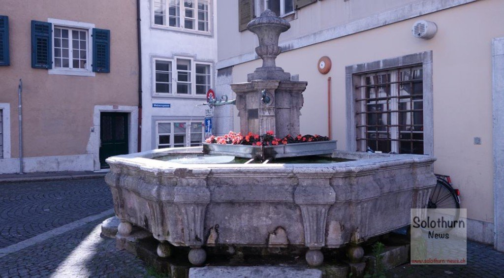 Solothurn Brunnen - Hintergass-Brunnen