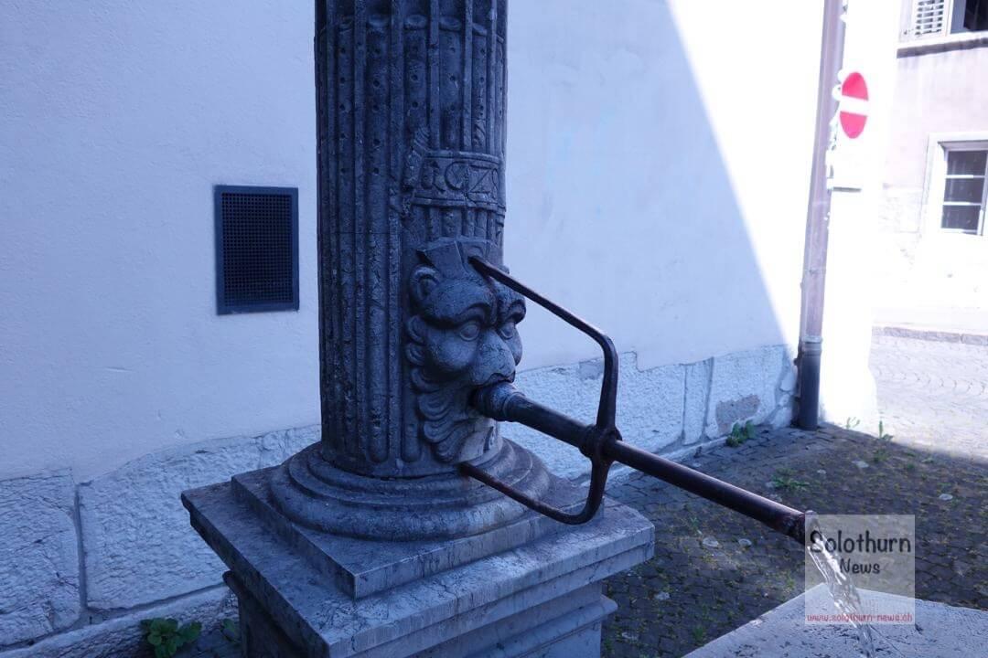 Solothurn Brunnen – Franziskaner-Brunnen