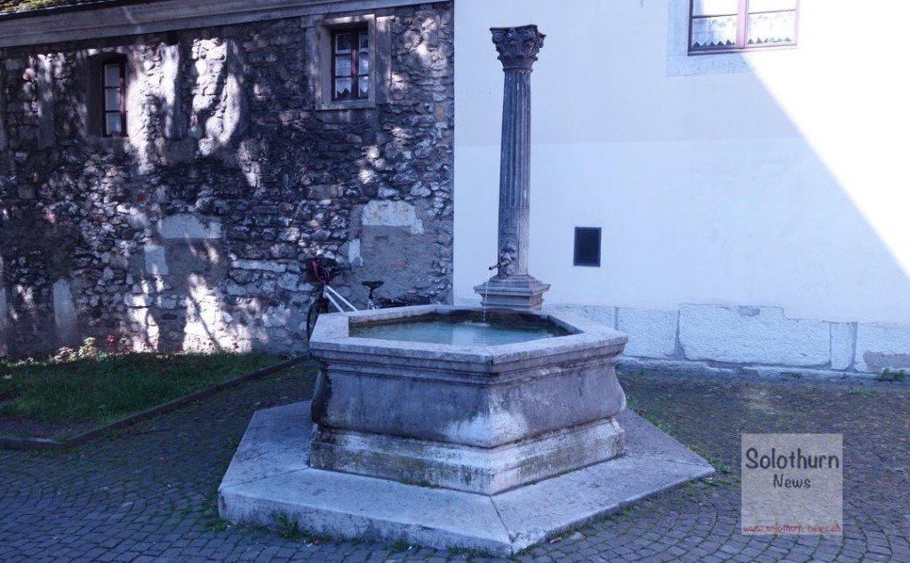 Solothurn Brunnen - Franziskaner-Brunnen