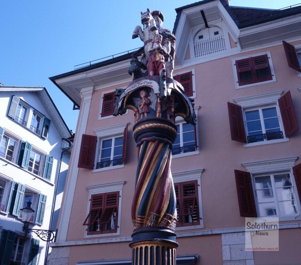 Solothurn Brunnen - Georgs-Brunnen