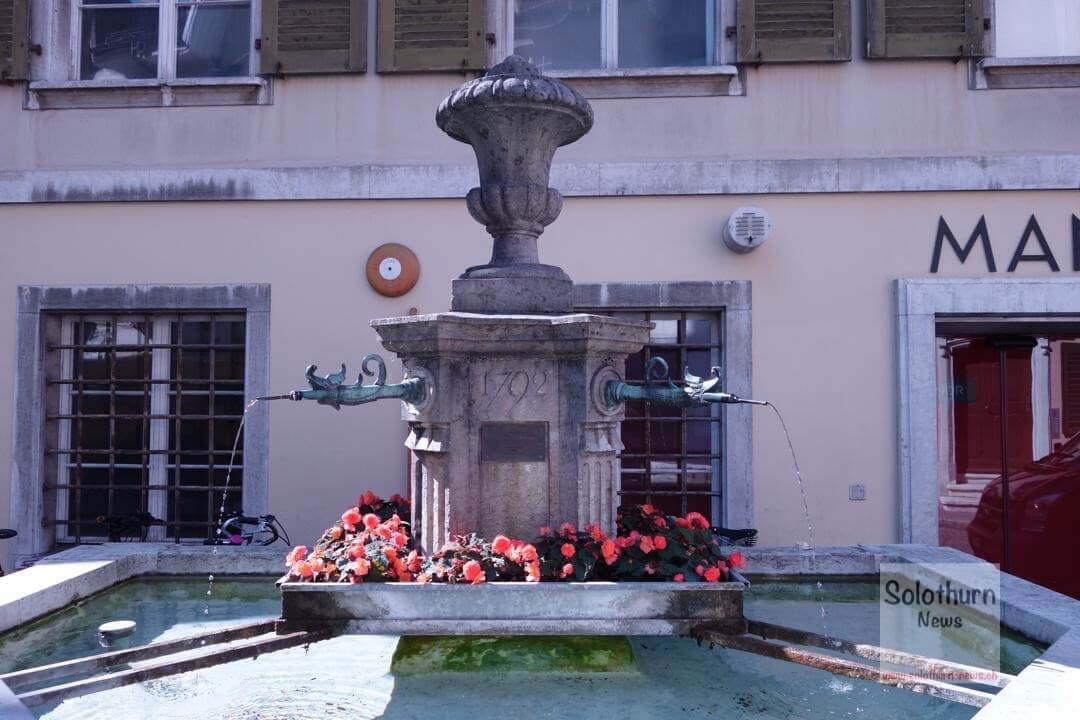 Solothurn Brunnen – Hintergass-Brunnen