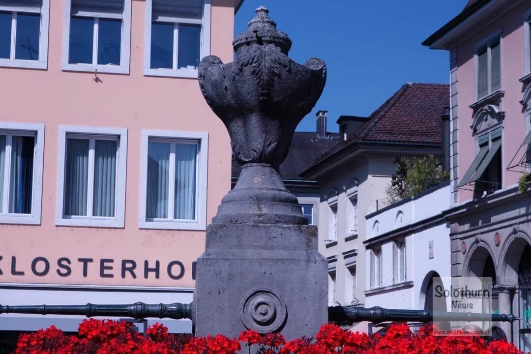 Solothurn Brunnen – Klosterplatz-Brunnen