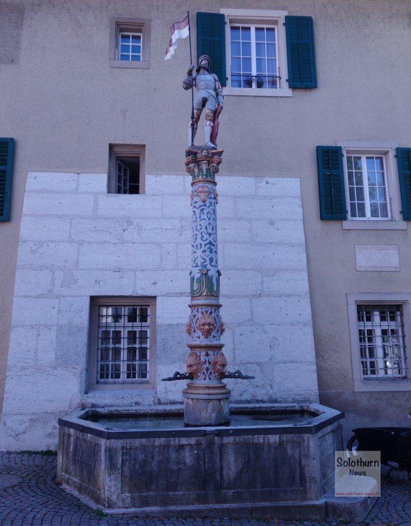 Solothurn Brunnen - Maurizius-Brunnen