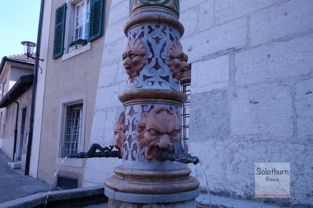 Solothurn Brunnen – Maurizius-Brunnen