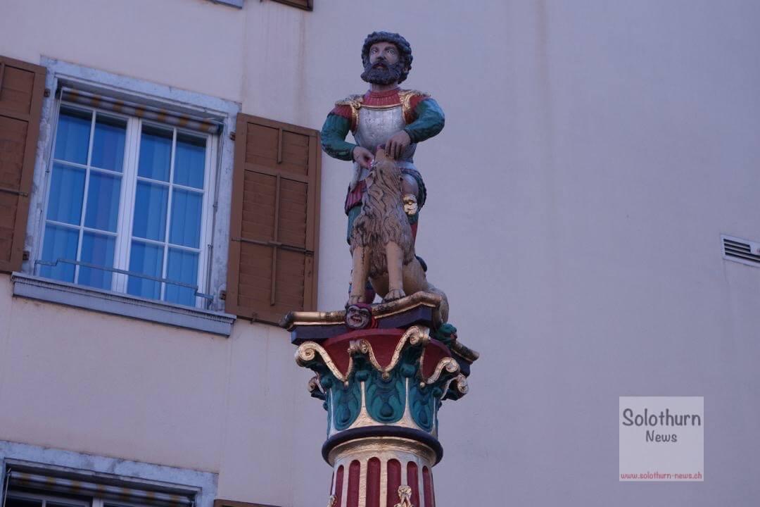 Solothurn Brunnen – Moses – Brunnen