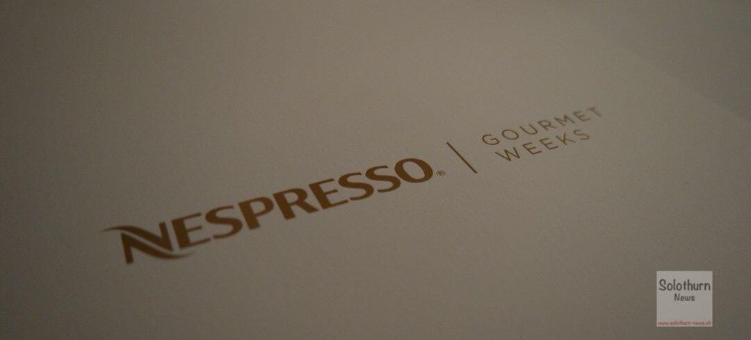 Nespresso Gourmet Weeks 2015 in Solothurn