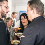 Interessante Gespräche in der Küche - Bildquelle Marie-Sophie Pascher