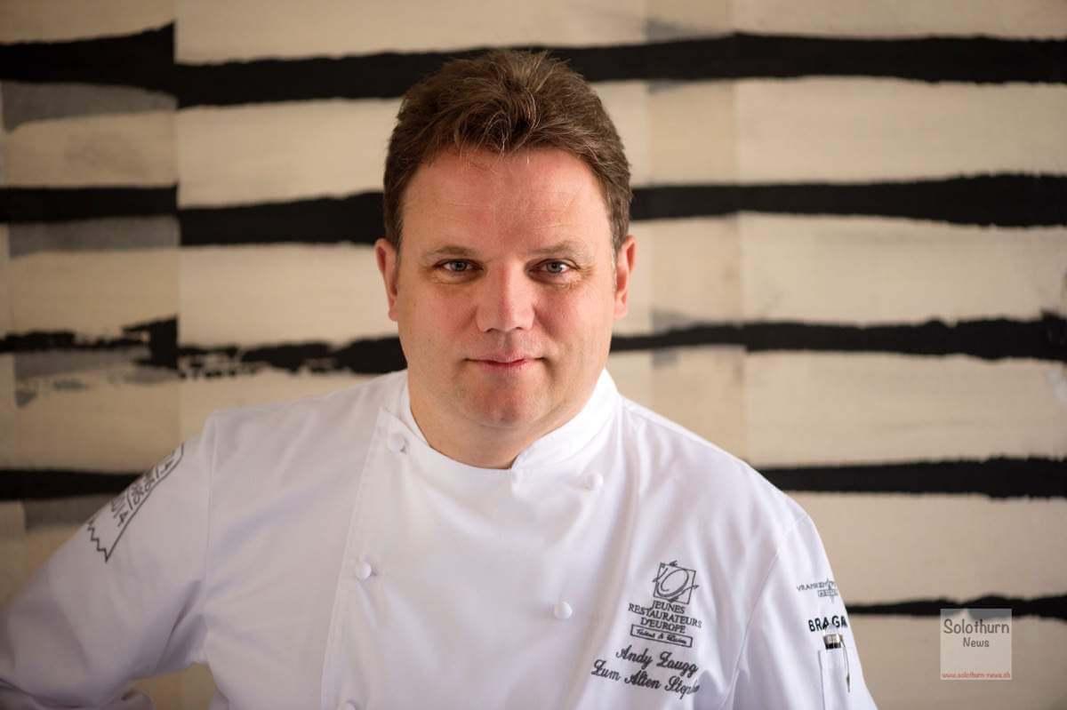 Ehrung für Andy Zaugg Aufnahme in die «Académie Culinaire de France»