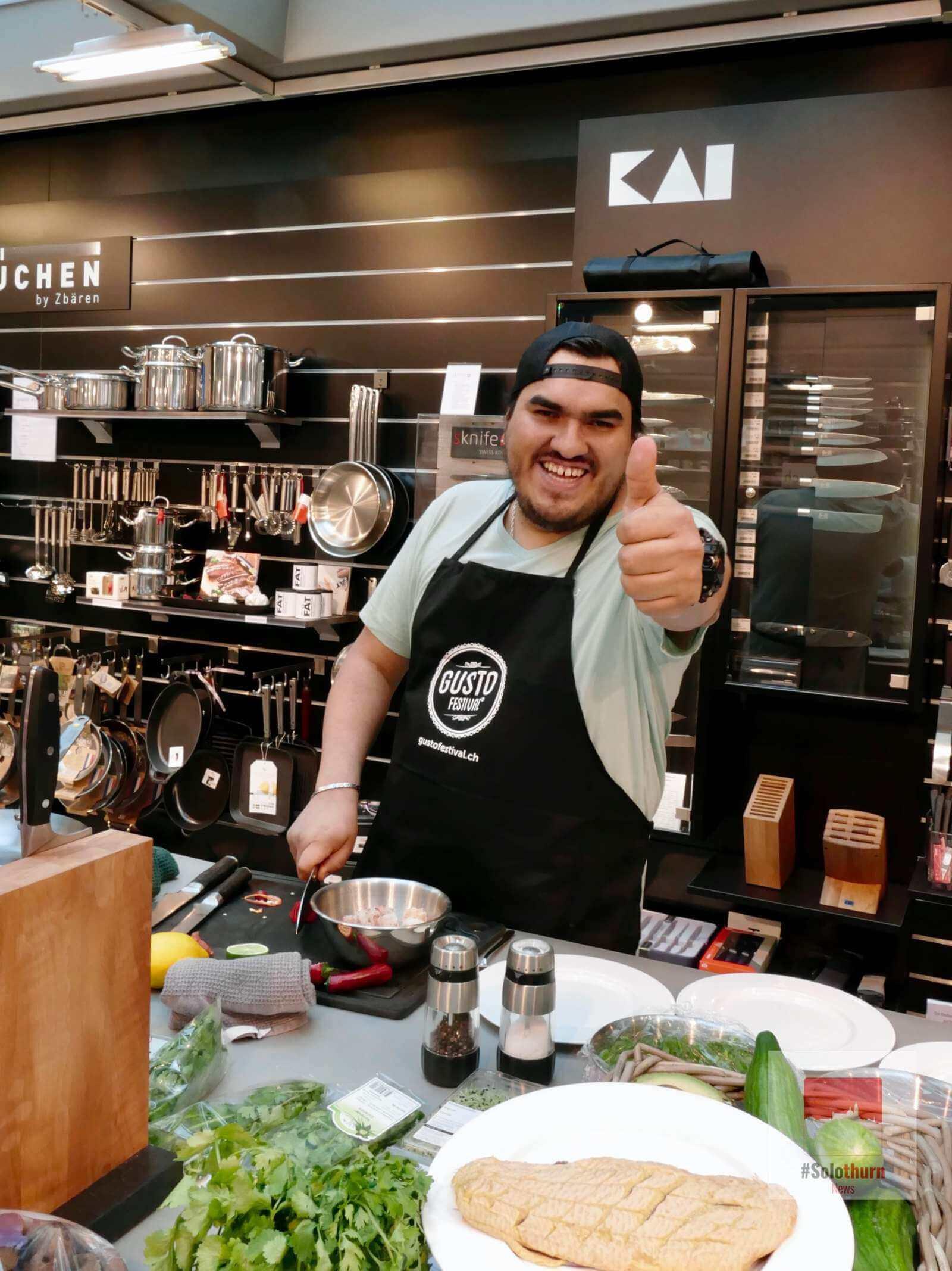 Ceviche Workshop mit Anthony Vásquez – Gustofestival 2017