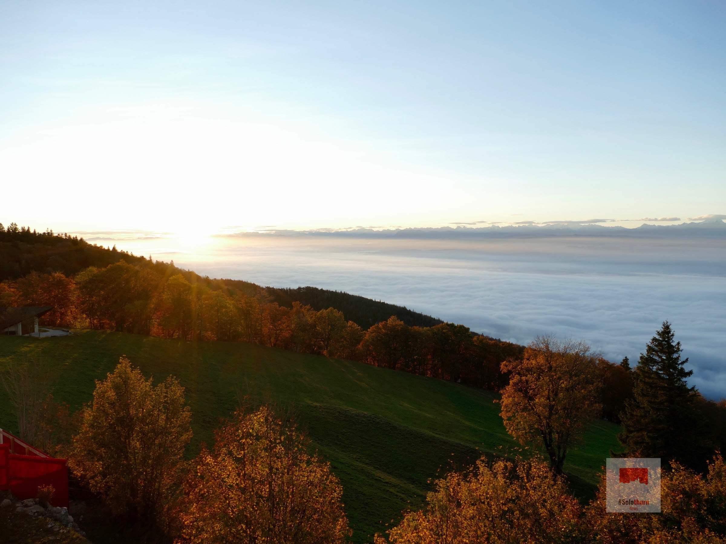 Ausflug auf den Weissenstein mit Übernachtung