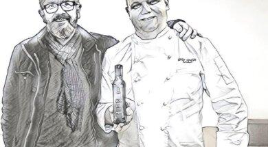 Olivenöl-Degustation und -Verkauf mit Urban Schiess und Andy Zaugg